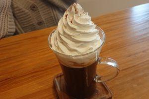 CAFE SORA。のウインナ・コーヒー
