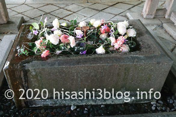 熊野大社 手水舎 2
