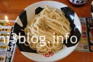 おんのじ 極冷え つけ麺 中盛 3