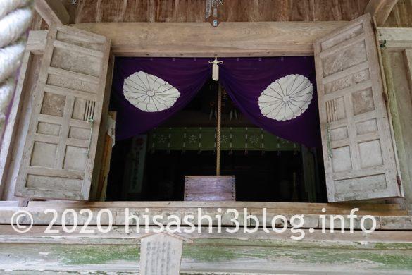 鳥海山大物忌神社 蕨岡口之宮 本殿2
