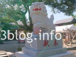 荘内神社の狛犬2