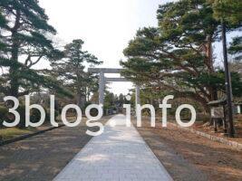 荘内神社の参道1