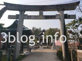 荘内神社の参道2