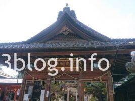 荘内神社の拝殿1