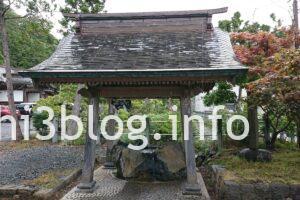 鳥海山大物忌神社 吹浦口の宮 手水舎