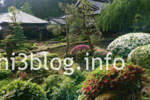 玉川寺の庭園3