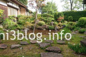 玉川寺の中庭