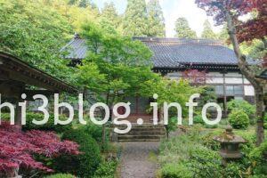 玉川寺の本堂