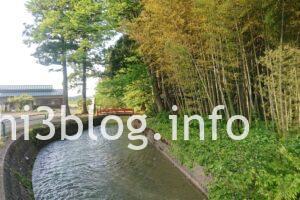 玉川寺のお堀川