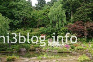 玉川寺の庭園1