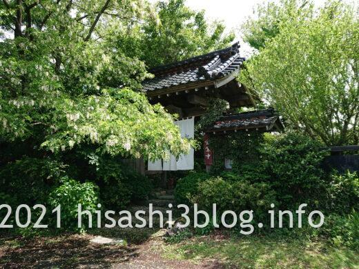 大松庵の門1