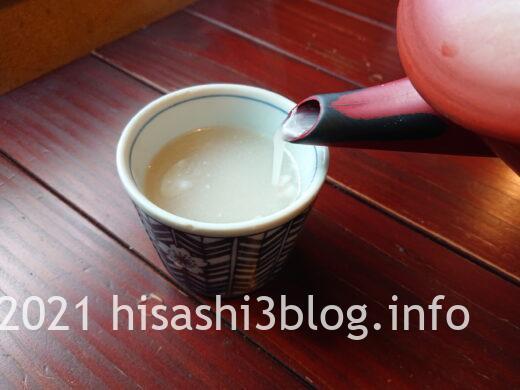 大松庵 蕎麦汁