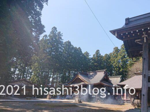 總宮神社の境内