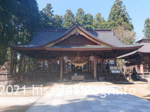 總宮神社の拝殿1